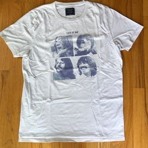 """Abercrombie & Fitch T-Shirt """"Let It Be""""- Beatles"""